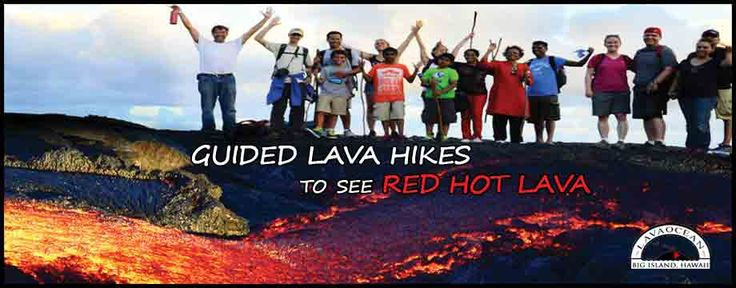 Lava Hikes in Hawaii