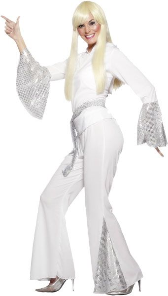 Boogie the night away at your Eurovision party with this 70s Abba costume!