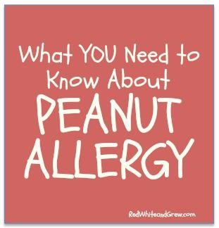What you need to know about the dreaded peanut allergy via RedWhiteandGrew.com