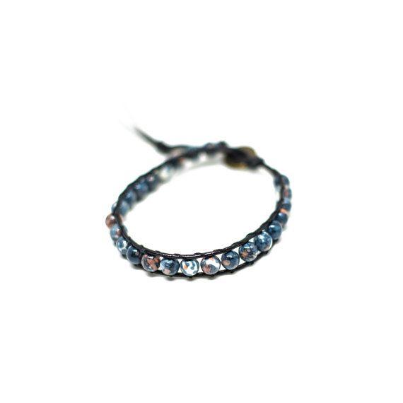 Storm Wrap Bracelet by HoneysDead on Etsy