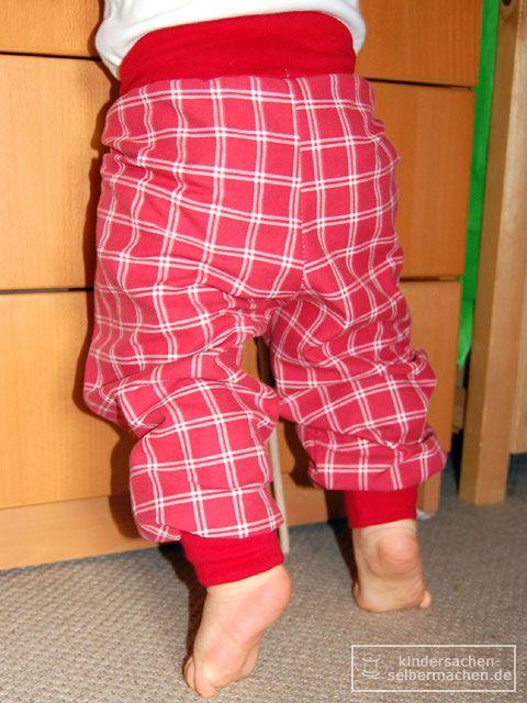 Pumphosen für Kinder selber machen nähen - Bild 2