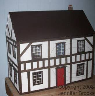 DIY Dollhouse FREE cutting plan and step by step instructions with photos / Jennifer Brooks