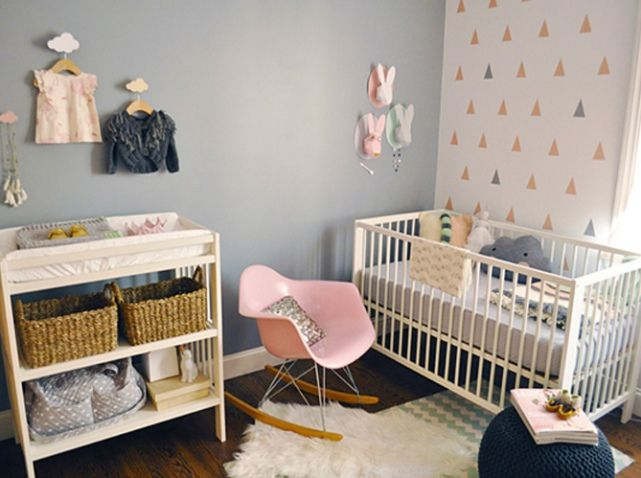 chambre de b b 25 id es pour une fille elle d coration nursery kids rooms and room. Black Bedroom Furniture Sets. Home Design Ideas