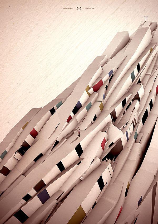 Time - cерия иллюстраций от Depthcore \ Illustrations    Предлагаем оценить работы международного объединения иллюстраторовDepthcore, которые специализируются на современном цифровом искусстве. В состав входят художники: Justin Maller, Karan Singh из Нью-Йорка, Brian Smith -Техас, Ravi Vasavan - Сидней, Perttu Murto из Оулу, Финляндия.    Каждые 3 месяца они выпускают серию своих лучших работ. Их последняя серия называется Time.