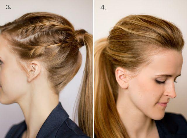 Ten ways to dress up a ponytail.