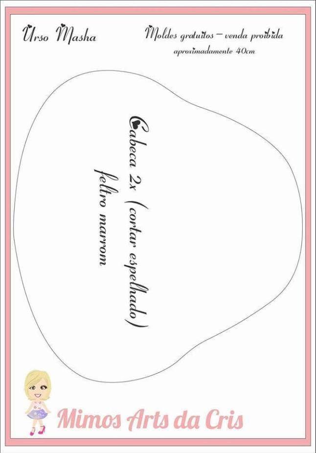 Moldes del Oso de Masha en Fieltro Moldes para hacer el simpático y famoso Oso de Masha en Fieltro. Delfines en fieltro DIY y moldesMolde de Muñeca bebé con chupete en fieltroMolde Bebé en FieltroPatrón Muñeca de FieltroLinda gatita en fieltro con patronesLa Bella y La Bestia en fieltro con moldesMoldes muñeca embarazada …