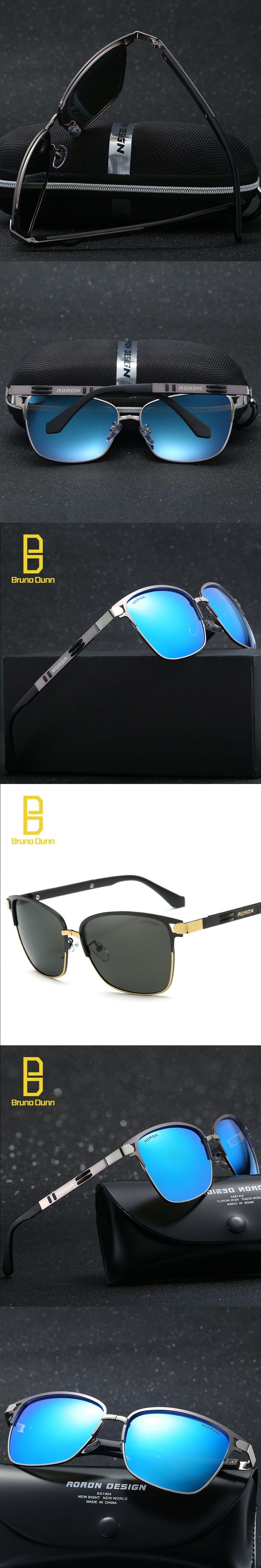 2017 Vintage Brand Luxury Aluminum Magnesium Alloy Polarized Sunglasses Men fishing Glasses HD Polarized oculos de sol feminino