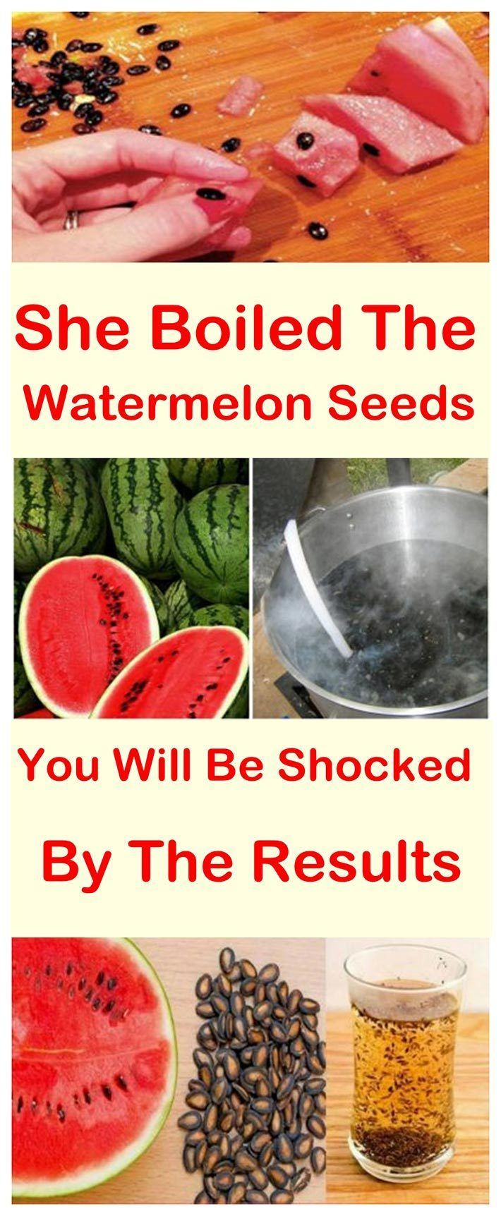 Boil Watermelon Seeds And Get Ready To Be Stunned By The Results#health#benefits#watermelon#prevent#tea#seeds