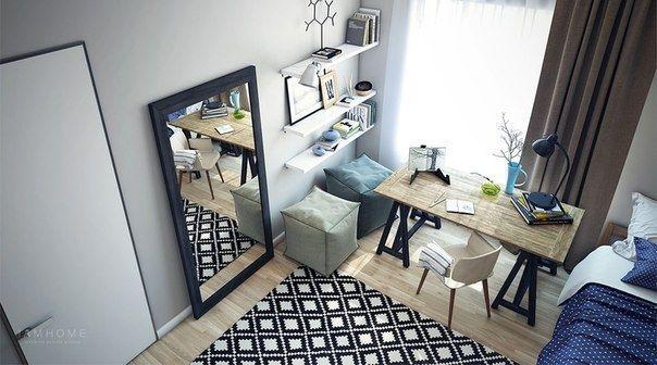 Современная детская комната девочки-подростка - Дизайн интерьеров | Идеи вашего дома | Lodgers