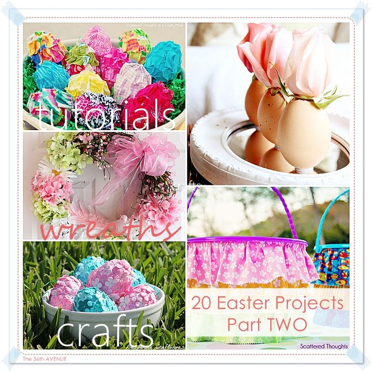20 Easter easy to make projects and tutorials... PART 2!: 36Th Avenu, Extraordinari Easter, Socks Bunnies, Easter Easy, Easter Crafts, Easter Spr, 20 Easter, Easter Projects, 20 Extraordinari