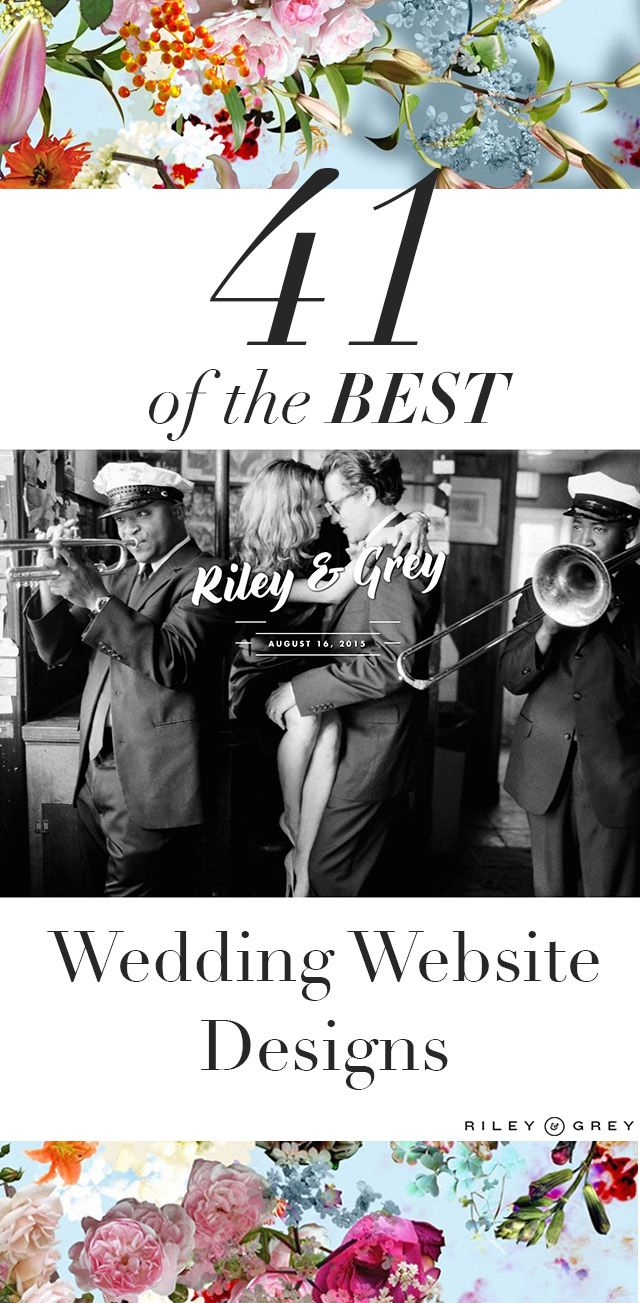 wedding website design templates and examples (wedding inspo, wedding photography, wedding invitations) https://www.rileygrey.com