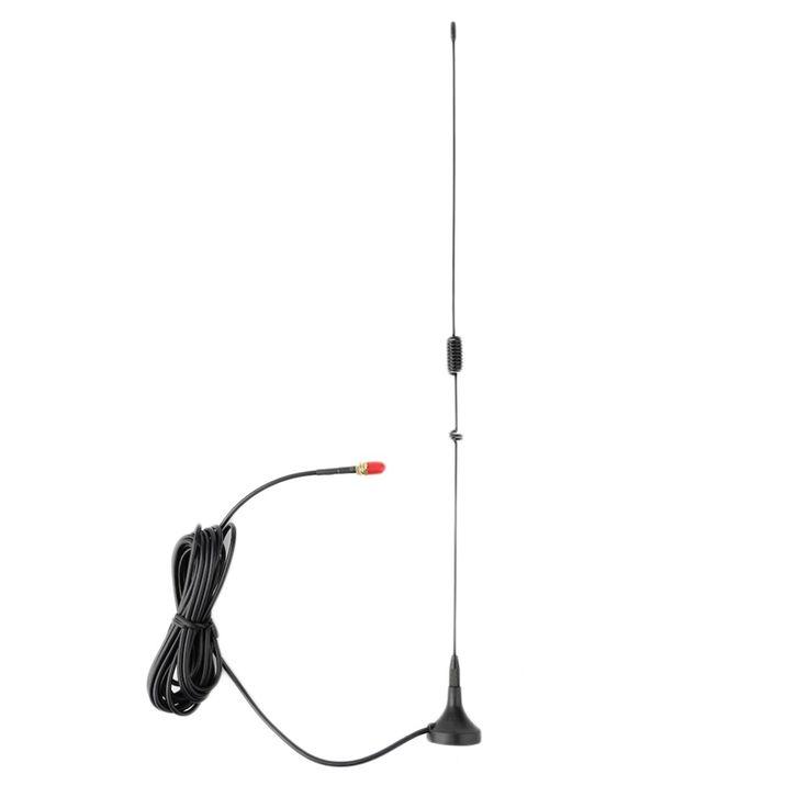 Coche más nuevo Montado $ Number Db Antena de NAGOYA UT-106UV SMA-F Dual Band Radio Móvil Negro Al Por Mayor