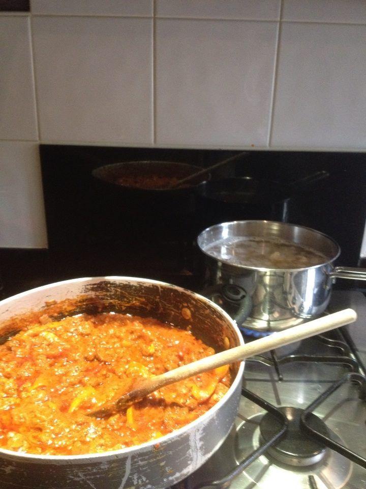Tesco Finest Pasta recipe, meat sauce and Finest GIGLI Pasta!