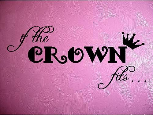 QUOTE-If the crown fits-special buy any 2 quotes and get a free quote of equal or lesser value