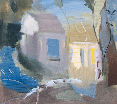 Ivon Hitchens, House Among Trees, 1943, Oil on canvas |Lucas Bequest (1995), © Estate of Artist