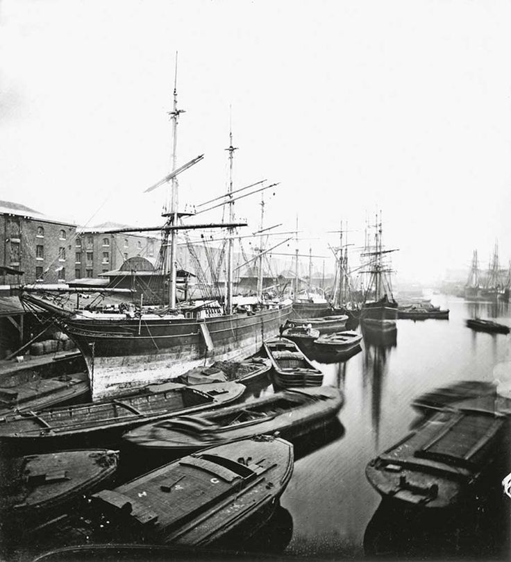 London's Docks 1870
