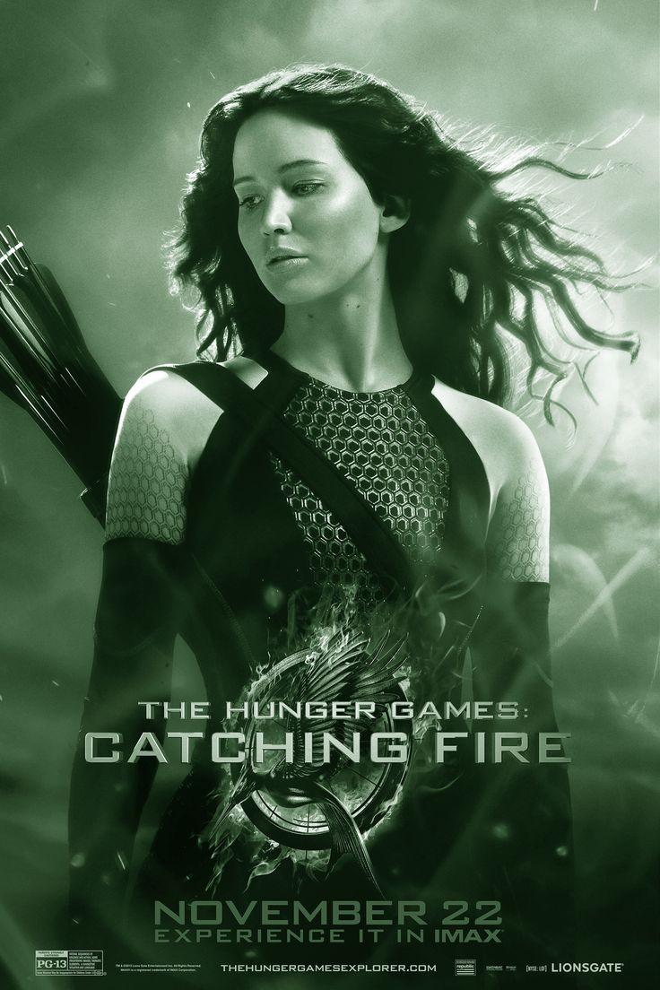 THE HUNGER GAMES: CATCHING FIRE  is een Amerikaanse sciencefictionfilm uit 2013, gebaseerd op het gelijknamige boek van Suzanne Collins. Het is de tweede film in de Hongerspelentrilogie en de opvolger van The Hunger Games uit 2012. Met o.a. Jennifer Lawrence, Lenny Kravitz, Elizabeth Banks en  Donald Sutherland