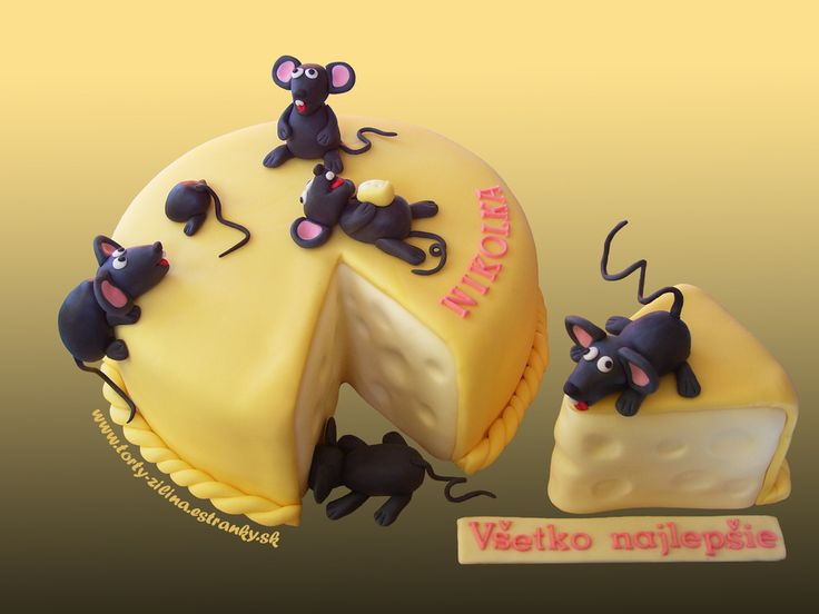 17 Best Images About Cheese And Mice Cakes On Pinterest