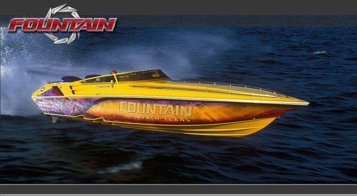 fountain powerboats for sale