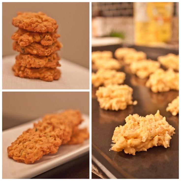 Savour Sisters: Day 3: Savory Cheddar Crisps