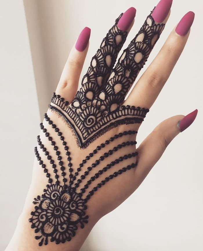 Top 111+ Latest & Simple Arabic Mehndi Designs for Hands & Legs | Mehndi  designs for hands, Simple arabic mehndi designs, Mehndi designs