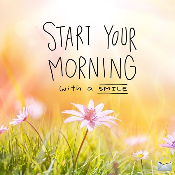Morning habits to start your day right.