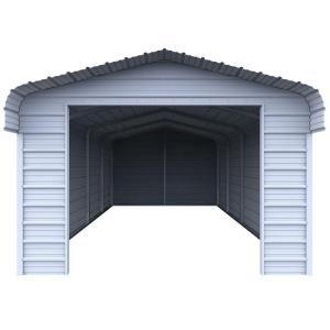 VersaTube Enclosure Kit for 12 ft. W x 20 ft. L x 7 ft. H Steel Carport EK1218072 at The Home Depot - Mobile