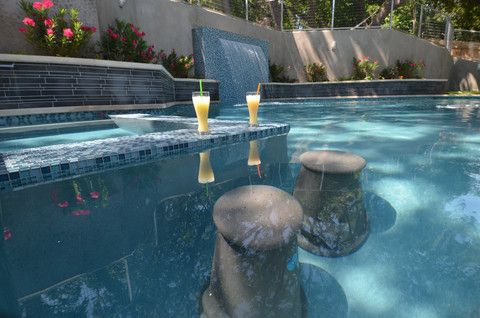 Luxury Swimming Pool Bar Stools