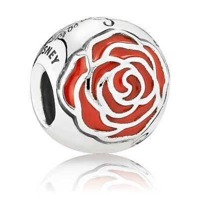 Belle Enchanted Rose Charm by PANDORA