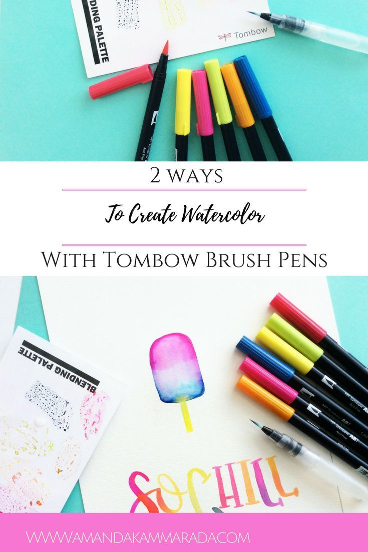 161 best Tombow Techniques images on Pinterest | Hand ...