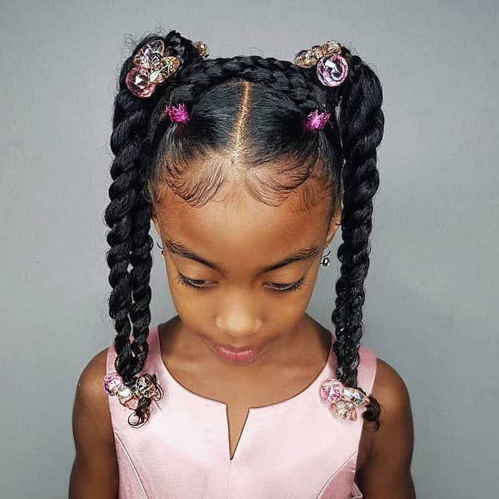 Hairstyle Girl Jora: 1001 + Ideas For Beautiful And Easy Little Girl Hairstyles