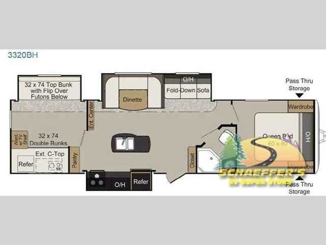 2016 New Keystone Rv Passport 3320BH Grand Touring Travel Trailer in Pennsylvania PA.Recreational Vehicle, rv, 2016 Keystone RV Passport 3320BH Grand Touring, This Passport 3320BH Grand Touring travel trailer by Keystone RV features a bunkhouse for the kids, a kitchen island, triple slides, plus an outside kitchen also.Before entering this unit check out the rear side exterior kitchen featuring a counter-top, refrigerator,two burnercook-top, and more. The perfect camping accessory for…