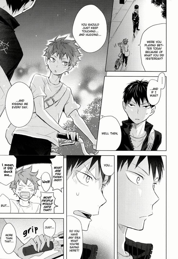 [bubunhanten] Haikyuu!! dj – Kokoro Control 1 [Eng]  Page 33 #Haikyuu #Yaoi #Kagehina #kageyama #hinata #doujinshi #amazing #beautiful #love #sweet #happy