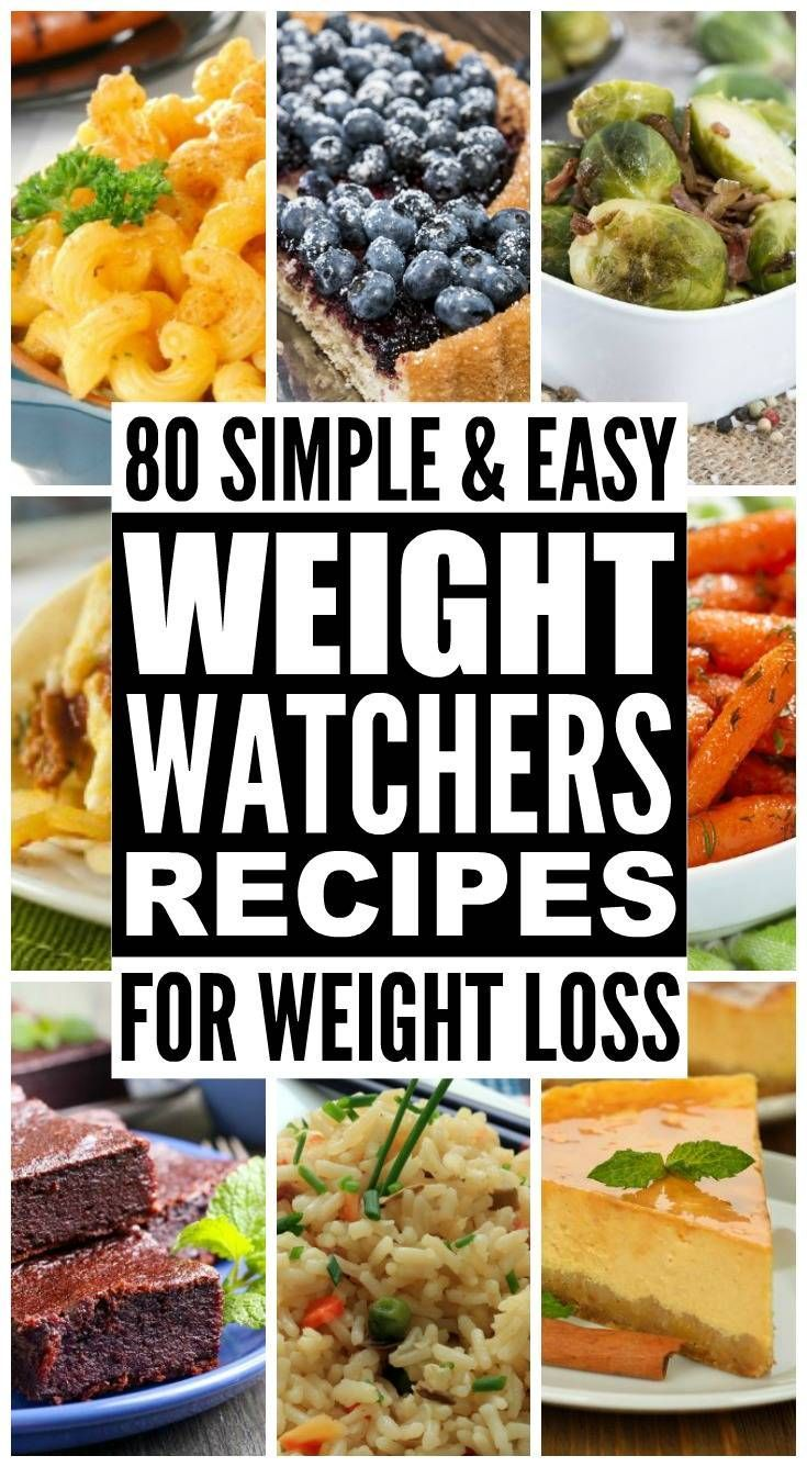 Weight Watchers Recipes and Tips. | 80 Easy Weight Watchers Recipes For Weight Loss