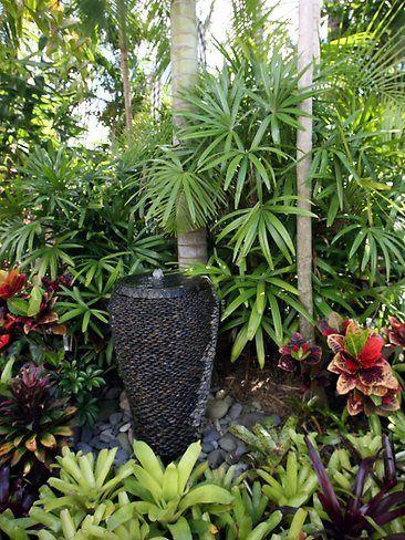 courtyard tropical garden – Google Search