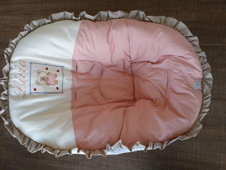 1 Protetor de bebe conforto <br>1 protetor de carrinho <br> <br>Tecido 100 % algodão <br>Em metalace com passadores para conto de segurança