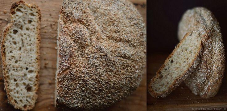 Trufla: Pane integrale. Chleb najprostszy, bez wyrabiania.