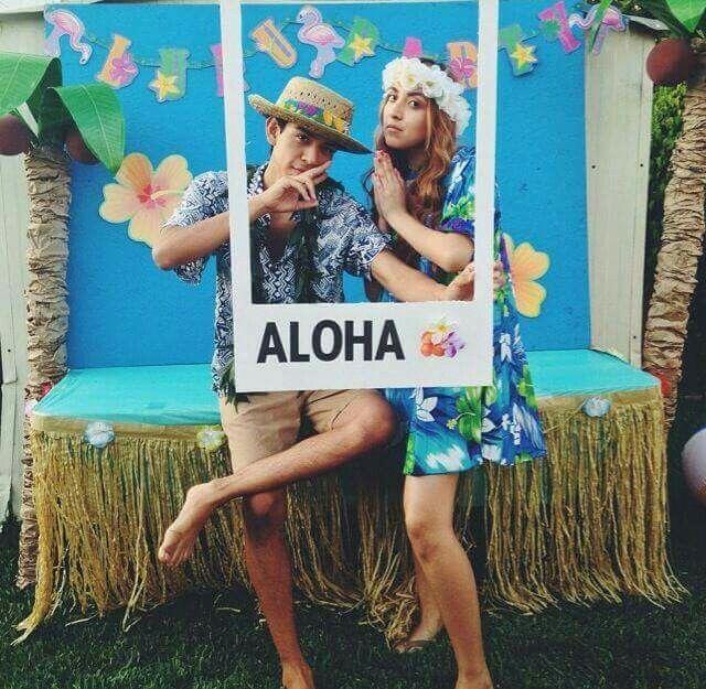 Hawaian party