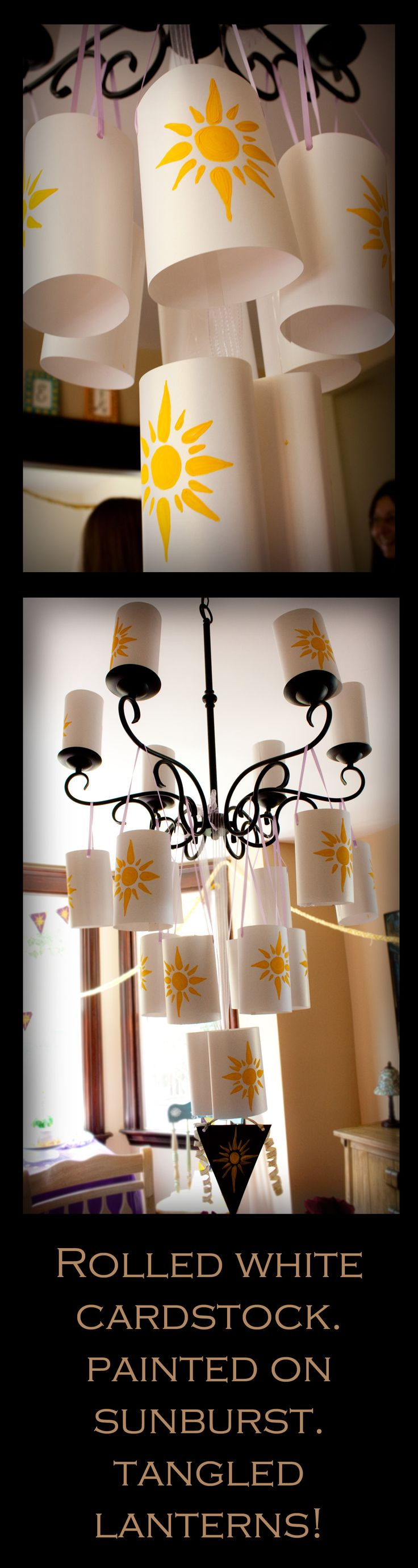 TANGLED #Tangled #Rapunzel #lanterns Created by Brie Hammer