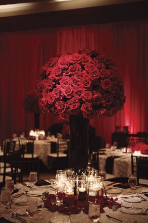 15 best redchocolate centerpieces images on pinterest flower unique his and hers wedding bands nautical wedding backdrop lds wedding dresses wedding stage decor red rose centerpieces for weddings junglespirit Image collections