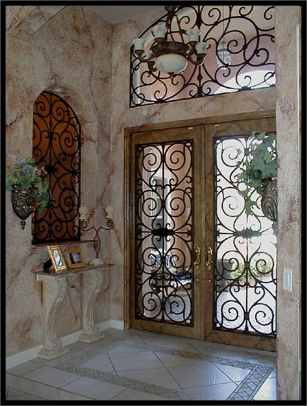 Tableaux Wrought Iron :: Naples Bay Blinds & Shutters :: www.NaplesBayBlinds.com