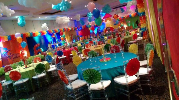 Charlie y los Numeros party ideas Instagram @atelier_creativ0  Barranquilla