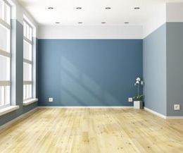 Paint Color Ideas That Make The Room Look Much Bigger Blue Living Rooms Empty