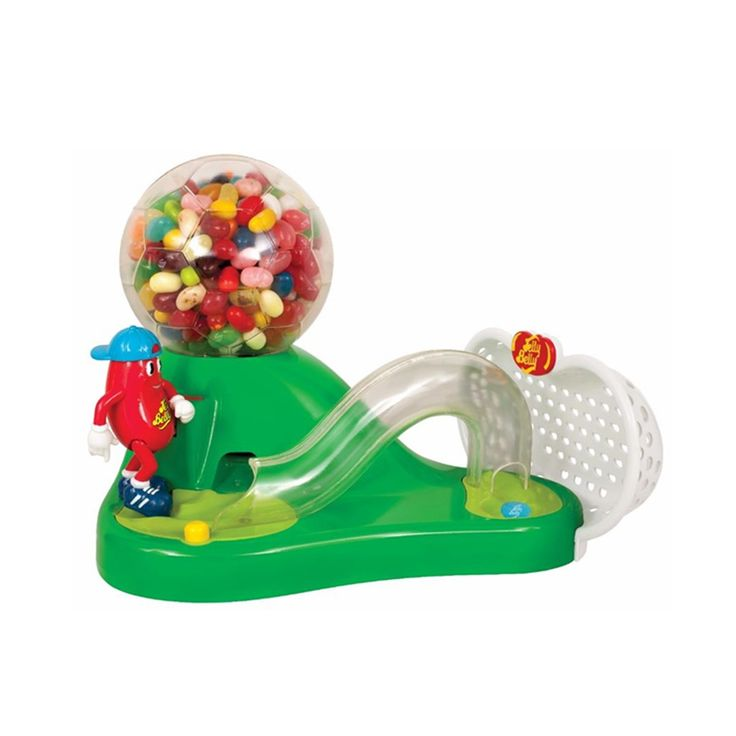 Mr. Jelly Belly Soccer Jelly Bean Dispenser Machine Includes Sample Bag