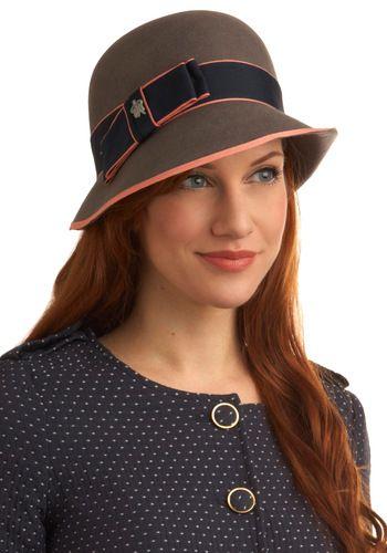 Cloche to You: Colors Combos, Style, Cute Hats, Vintage Hats, Cloche Hats, Accessories, Modcloth Com, Retro Vintage, Winter Hats