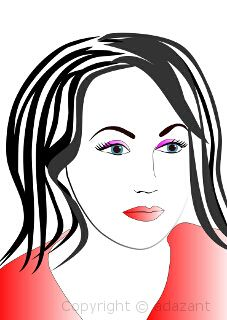 Pictures: Woman - illustration