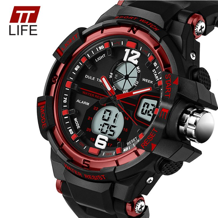 TTLIFE Brand 289 Sport Watches Women Popular Mens Watches Top Brand Luxury Relojes Deportivos Dual Watch Digital Quartz Analog