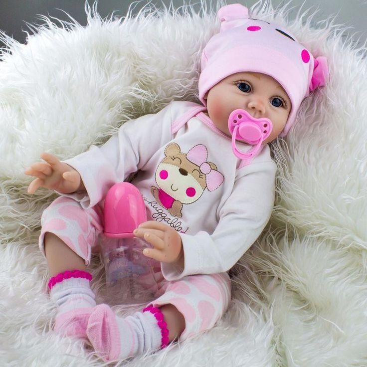 Кукла Реборн милашка с бутылочкой