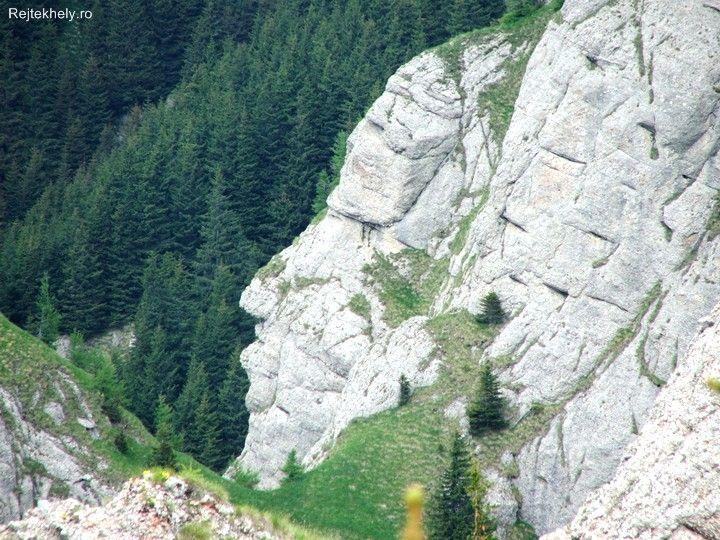 Indian face, Ciucas mountains, Romania