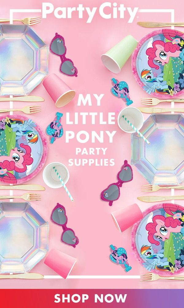 Make It A Magical Birthday Shop Party City For My Little Pony Birthday Party Supplies Little Pony Birthday Party My Little Pony Birthday Party My Little Pony Birthday